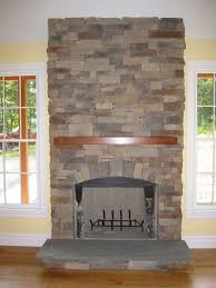 pleasant hearth fireplace doors with natural stacked brick stone fireplace colors