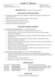 Customer Service Skills For Resume New Customer Service Accomplishments Resume Sample Examples Best Resumes