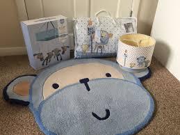 next cheeky monkey cot bed set al mobile lamp shade rug