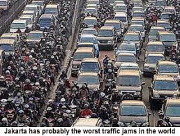 compilation of writing tasks acirc causes of traffic jam in jakarta government and people must be serious to cope this problem to solve the traffic jam so that jakarta can be from it