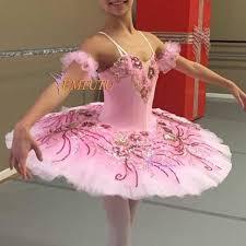 Ballet Rosa Size Chart Us 199 0 Adult Professional Ballet Tutu Pink Women Nutcracker Marzipan Platter Pancake Ballet Tutu Dress Ballet Stage Costume Emtutu In Ballet From