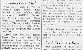 Robertson, Myrna. Club. - Newspapers.com