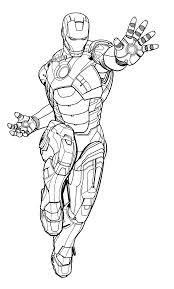 Disegni Di Iron Man Da Colorare