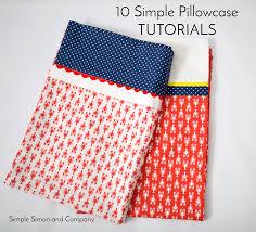 Pillow Case Pattern Amazing Design Ideas