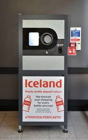 Reverse Vending Machine Recycling Simple Iceland Now Pay You To Recycle With A Reverse Vending Machine
