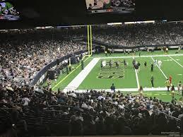 Superdome Section 147 New Orleans Saints Rateyourseats Com