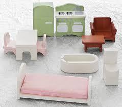 Kids dollhouse furniture Bathroom Dollhouse Furniture Starter Set Pottery Barn Kids Dollhouse Furniture Starter Set Pottery Barn Kids