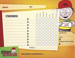 Dave Ramsey Junior Chore Chart Dave Ramsey Kids Chore Chart Chore Chart Kids Dave Ramsey