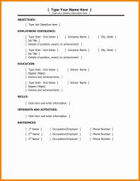 Sequential Format Resume Builder Luxury Quick Easy Resumeer
