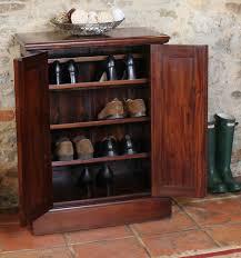 furniture shoe cabinet. chateau solid mahogany furniture hallway shoe storage cabinet cupboard rack ebay o