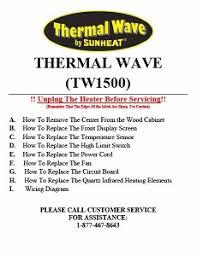 heater repair guides 3870001 switch at Sunheat Heater Wiring Diagram