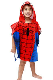 Bonds Kids Hooded Beach Towelmarvel Spiderman Bath Towel Ponchu Hood Pool Water Fun Chiqui Kids Kids Hooded Beach Towelmarvel Spiderman Bath Towel Ponchu Hood