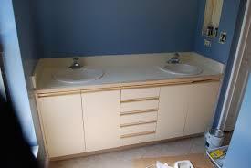 Painted Bathroom Countertops Karas Korner Tutorial How To Paint Bathroom Countertops To