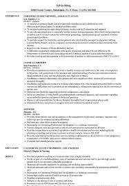 Midwife Resume Sample Midwife Resume Samples Velvet Jobs 1