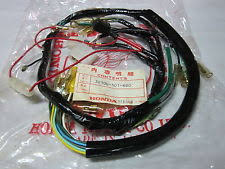 motorcycle electrical ignition for honda cb125s honda cb100 cl100 cb125s harness wire 32100 107 680 nos