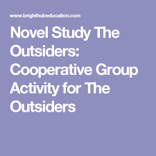 the outsiders lesson plans using story boarding character mapping novel study the outsiders cooperative group activity for the outsiders