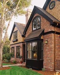 Small Picture red brick house with black trim Google Search Fantastic Facade