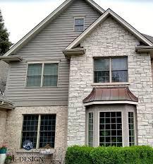 exterior stone and brick beige greige