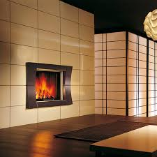 contemporary fireplace surround stainless steel earthenware academy