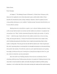 freire revised summary