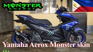 Aerox Decals Design Yamaha Aerox Monster Decal
