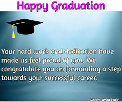 Graduation Congratulations Quotes Interesting Happy Graduation Wishes Quotes And Images Congratulations To