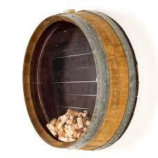 2/4 bottle wall mount wine rack shelf organizer bar decorative wine barrel stave. Wine Barrel Head Wall Art Paulbabbitt Com