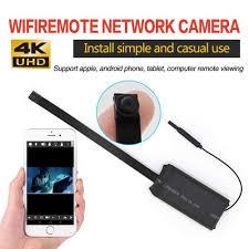 Mini Nút Wifi Camera Điều Khiển Từ Xa 4K Full HD DIY Camera IP Linh Hoạt  Micro Cam Mini DV Máy Quay Phim|Camera giám sát