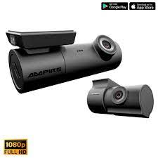 AMPIRE Front & Rear Dual-Dashcam with Full-HD, WiFi and GPS | Dashcams