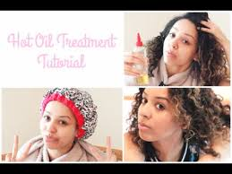how to hot oil treatment for natural