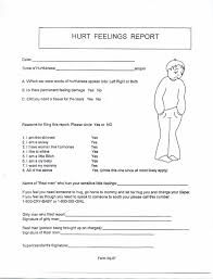 hurt feelings report form the hurt feelings report hurt feelings report pinterest hurt