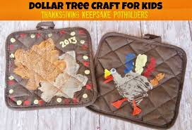 Thanksgiving Craft For Kids Dollar Tree Thanksgiving Keepsake Potholder Craft For Kids