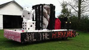 High Float Monopoly Themed Homecoming Float Jail The Hurricanes Edgewood
