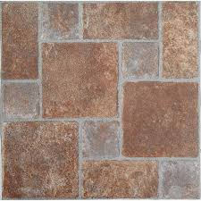 Peel And Stick Kitchen Floor Tile Nexus Brick Pavers 12x12 Self Adhesive Vinyl Floor Tile 20 Tiles