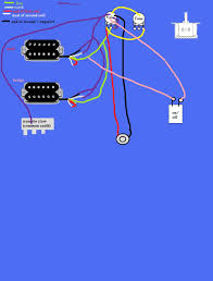 wiring 2 humbuckers coilsplit on a 5 way ultimate guitar at one point i though about having a setup which was 2 humbuckers 1 volume 1 tone and 4 toggle switches but decided against it because it wasnt practical
