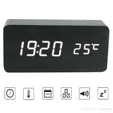 wooden alarm clock kobznation com
