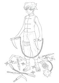 Naruto Coloring Pages Free Printable Deviantart Lagrangeowin