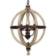 more views evan 4 light wood chandelier