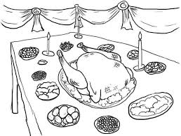 Small Picture 6 Images of Thanksgiving Feast Coloring Pages Thanksgiving Feast