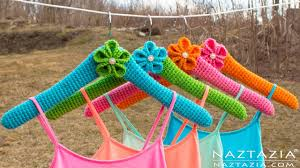 diy tutorial learn how to crochet clothes hangers crocheted cover for a hanger hangar