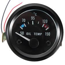 <b>2inch</b> 52mm <b>12v universal</b> 50-150 °c oil temp temperature gauge ...