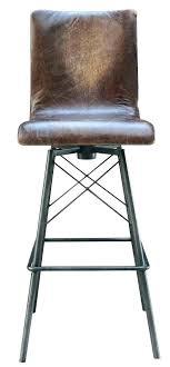 leather counter stools with backs saddle bar fabulous swivel stool back black