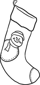 Small Picture Free Printable Christmas Stocking Coloring Page for Kids 2