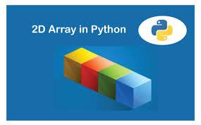 python 2d array javatpoint