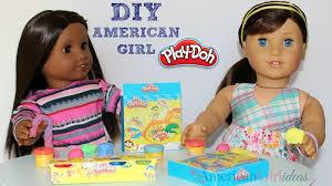 diy american girl play doh craft