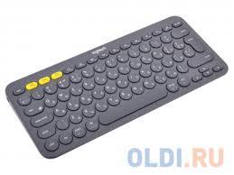 Беспроводная <b>клавиатура Logitech</b> Wireless Bluetooth <b>Multi</b> ...