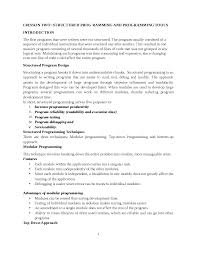 Top Down Design Advantages Programming Notes Compiled By P K Docsity