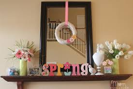 house decorating ideas spring. Fireplace Mantel Decor Home Decorating Ideas Mybktouch Intended House Spring R