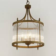 rustic wrought iron crystal drum shade chandelier