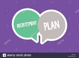 Design A Recruitment Plan Text Sign Showing Recruitment Plan Conceptual Photo Saving